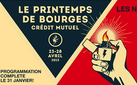 affiche-du-festival-du-printemps-de-bourges-2013
